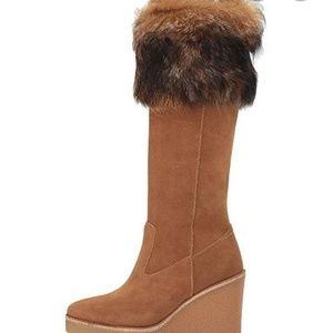 Ugg Australia Chestnut Valberg tall wedge boot